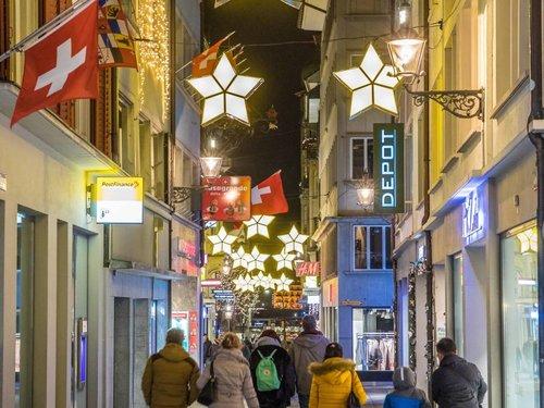 Depot Weihnachtsbeleuchtung.Weihnachtlicher Lichterglanz In Luzern Ewl Energie Wasser Luzern